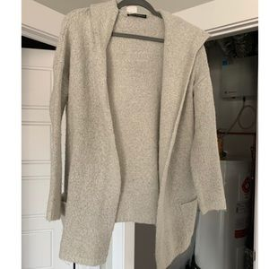 Brandy Melville Hooded Cardigan